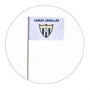 BANDERA DE PALO CANILLAS