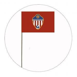 BANDERA DE PALO CD ATLÉTICO VALLECAS