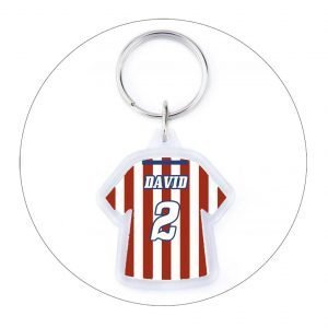 LLAVERO CAMISETA CD ATLÉTICO VALLECAS