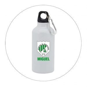 BOTELLA METAL CD SPARTAC DE MANOTERAS